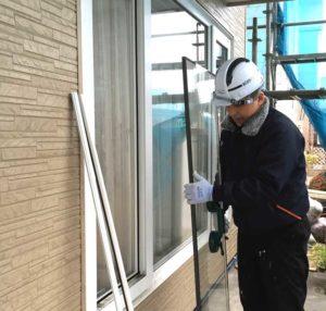 写真:外壁凍害・結露・カビの建売住宅を改修・札幌市東区・A邸(3)
