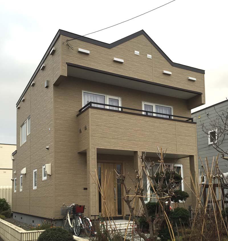 写真:外壁凍害・結露・カビの建売住宅を改修・札幌市東区・A邸(1)