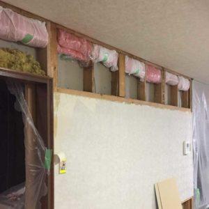 写真:札幌市東区N邸の断熱リフォーム工事(高床式3階建ての大きな住宅)(3)
