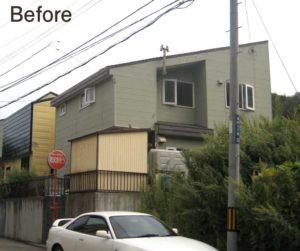 写真:初雪の日にも暖房がいらない! 2009年施工 小樽市・N邸(2)